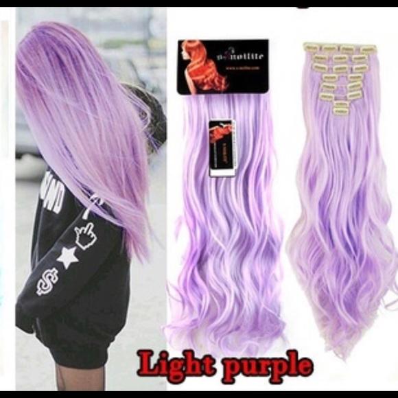 Other Light Purple Hair Extensions So Pretty Poshmark